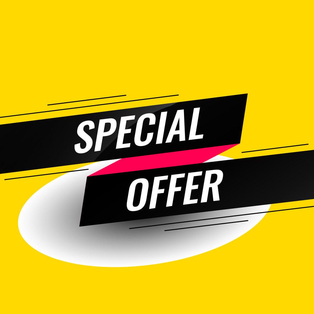 module - Ventes Flash & Ventes Privées - Special Product Slider - 1