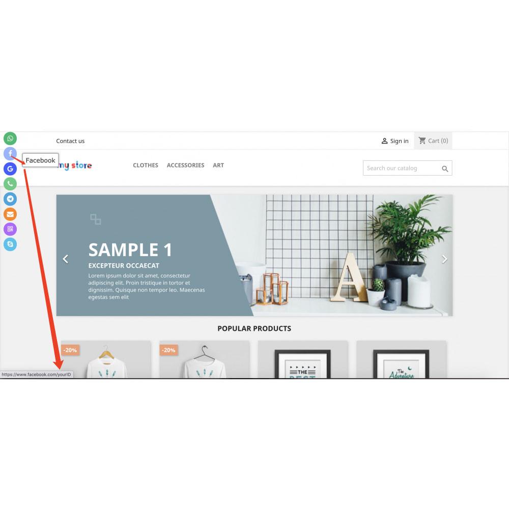 module - Widgety serwisów społecznościowych - Social Media Toolbar Custom Sidebar Widget - 4