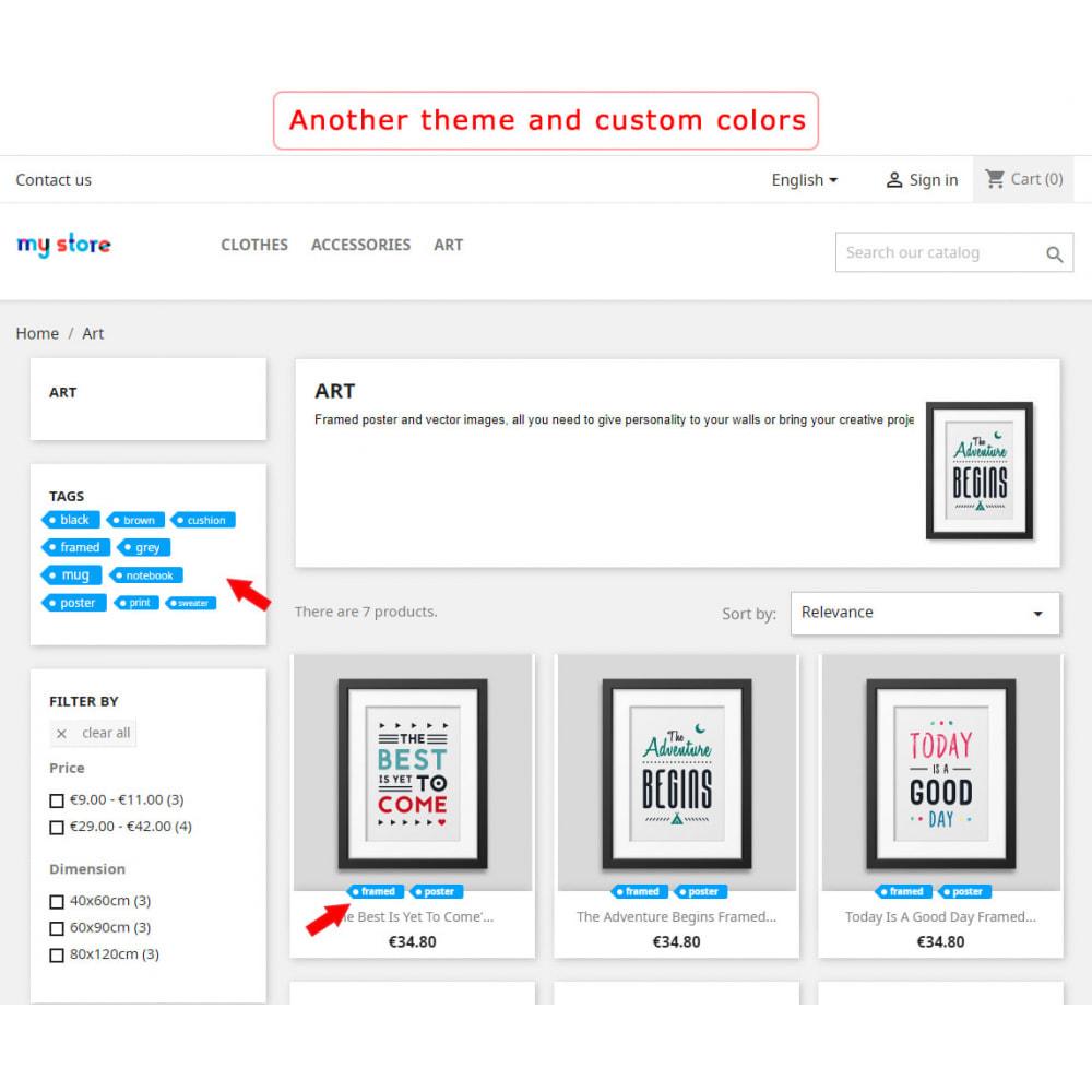 module - Badges & Logos - Better block of tags - 7