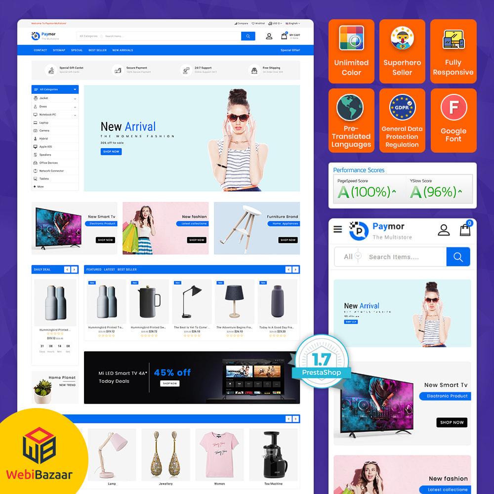 theme - Elektronik & High Tech - PayMore - Mega Ecommerce Store - 1