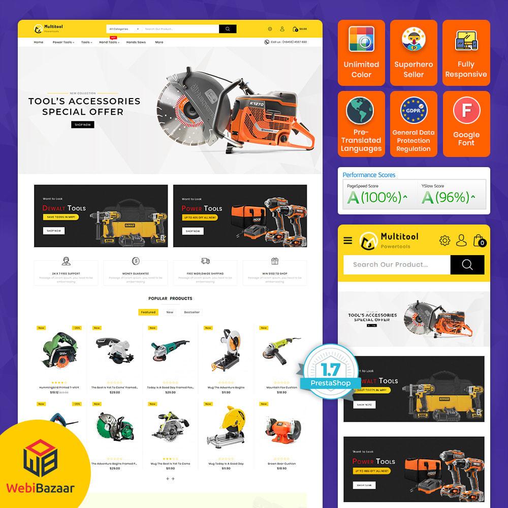 theme - Carros & Motos - Multitool - Mega Power Tool Store - 14