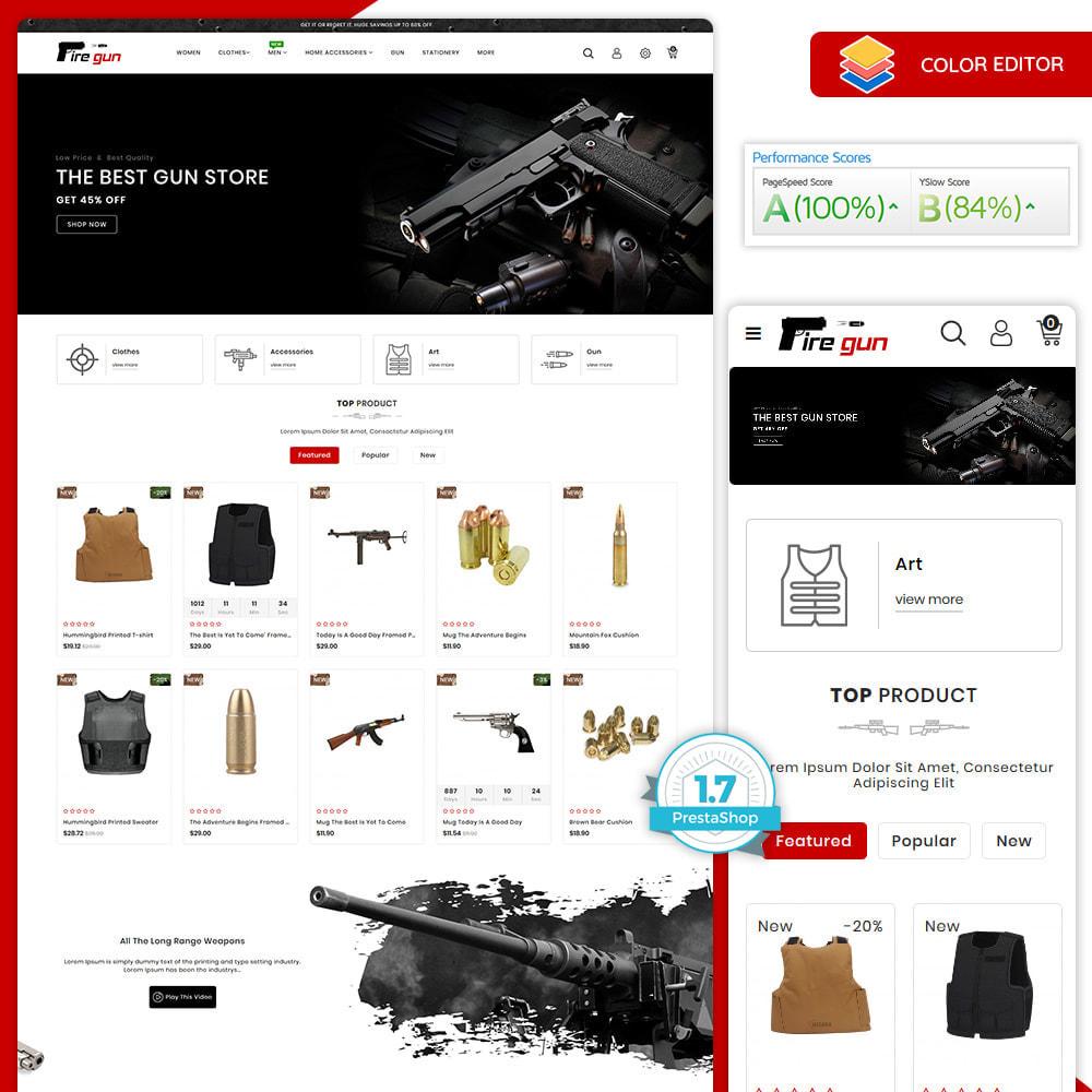 theme - Sport, Loisirs & Voyage - Firegun - Gun & Weapons Store - 1