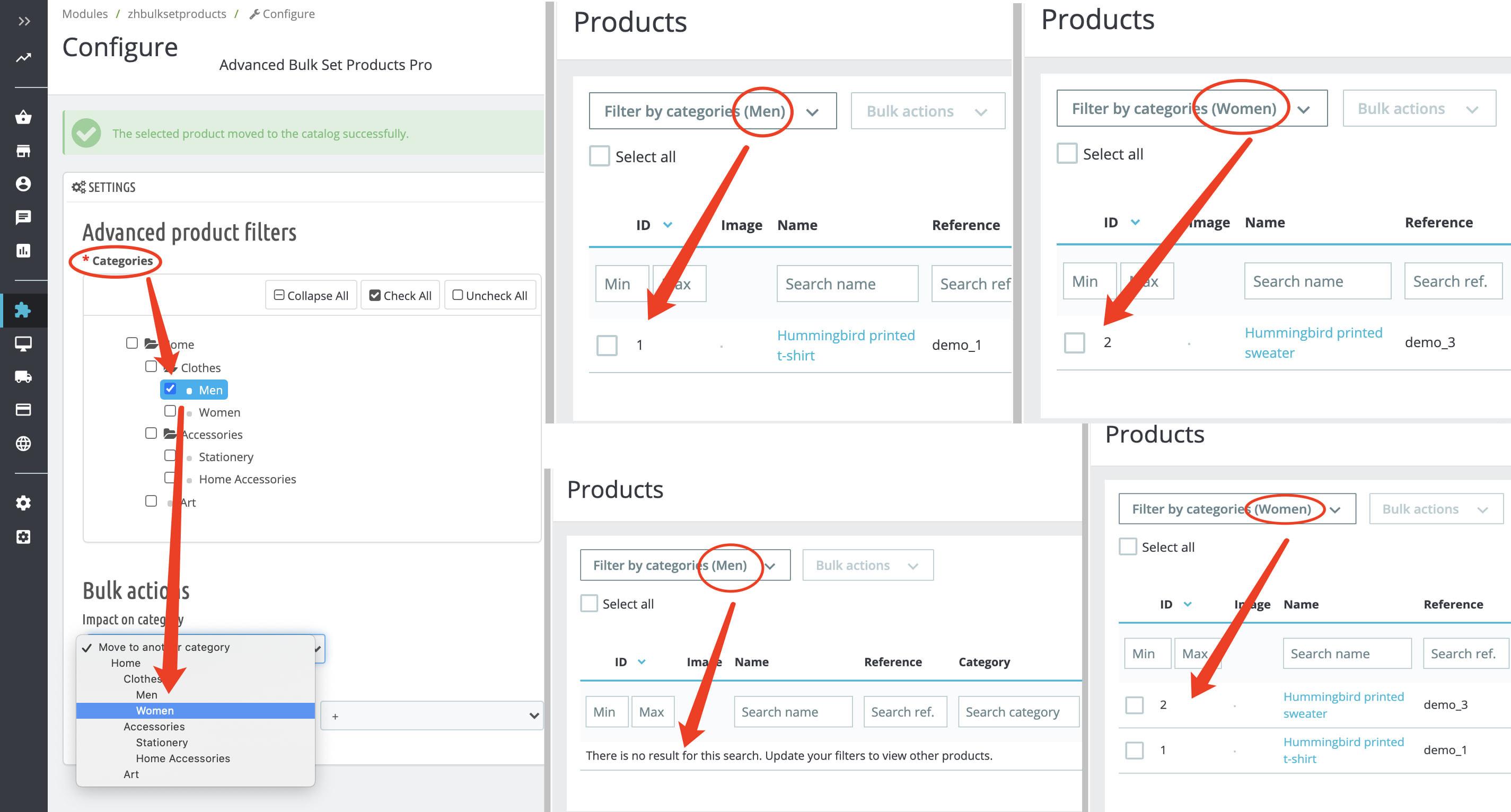 module - Fast & Mass Update - Advanced Bulk/Mass Set Product(Category,Price) Pro - 2