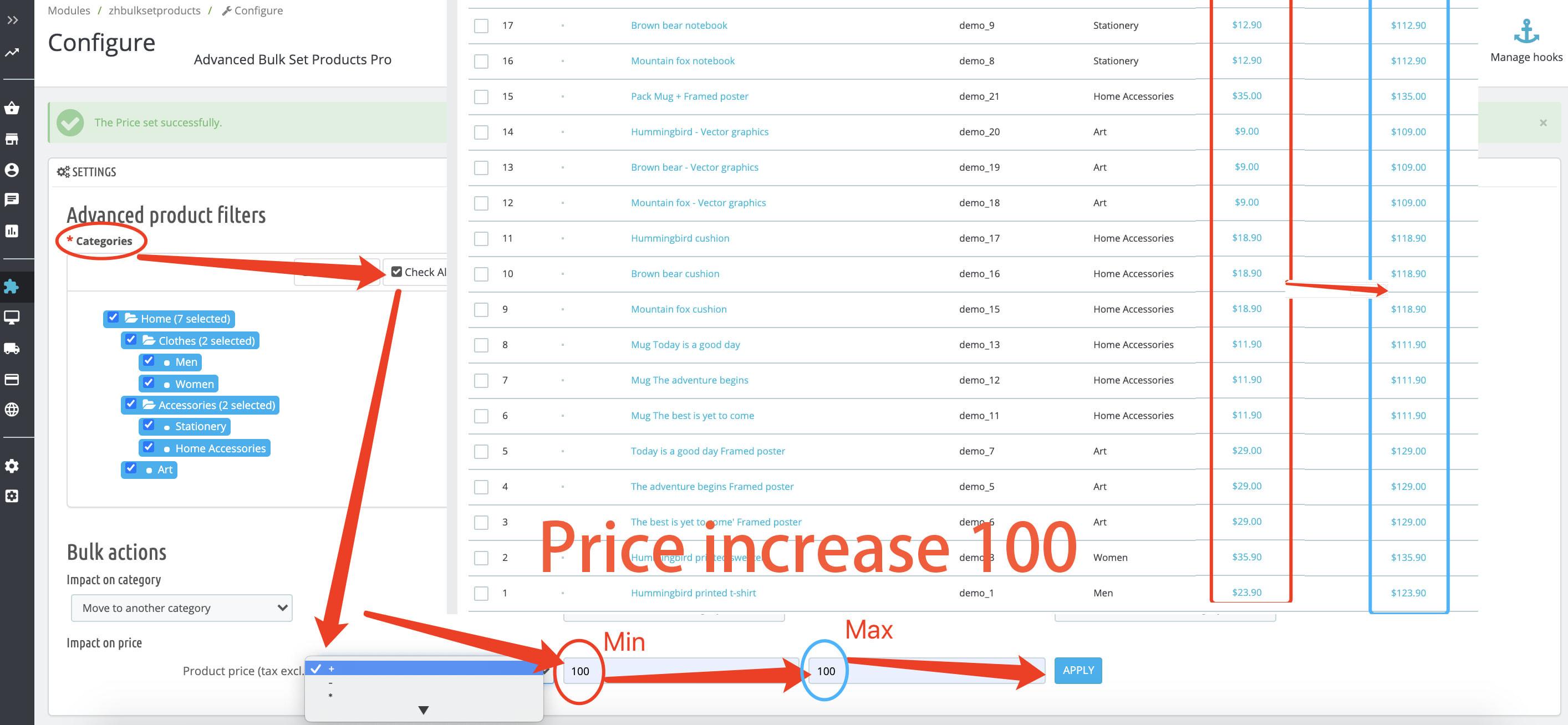 module - Fast & Mass Update - Advanced Bulk/Mass Set Product(Category,Price) Pro - 5
