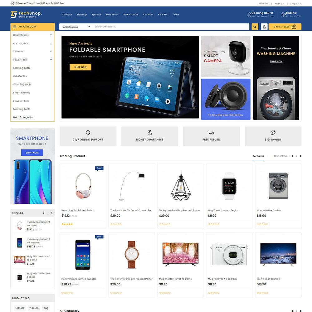 theme - Electronics & Computers - TechShop  - New Shopping Supermarket Store - 2