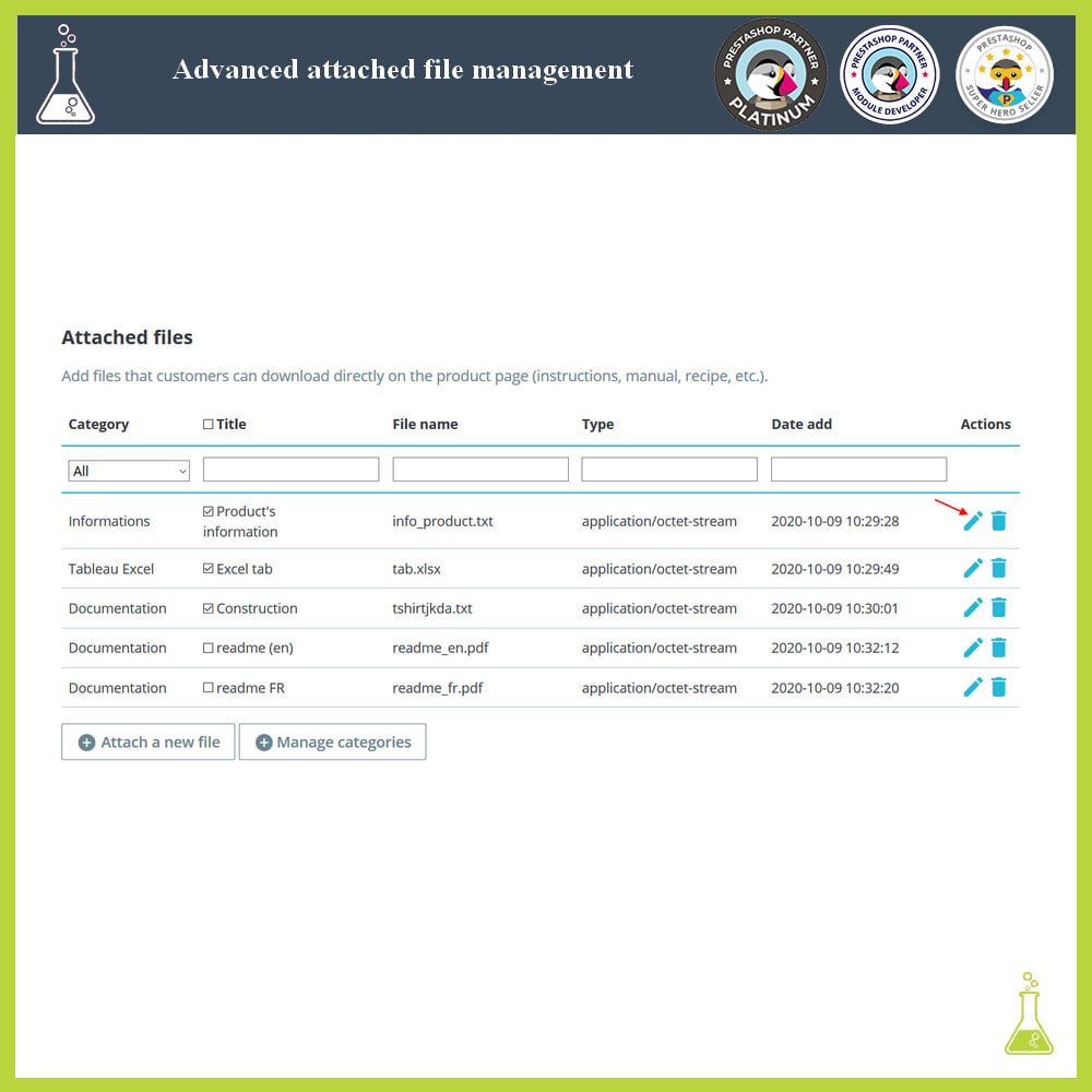 module - Search & Filters - Advanced attached file management - 4