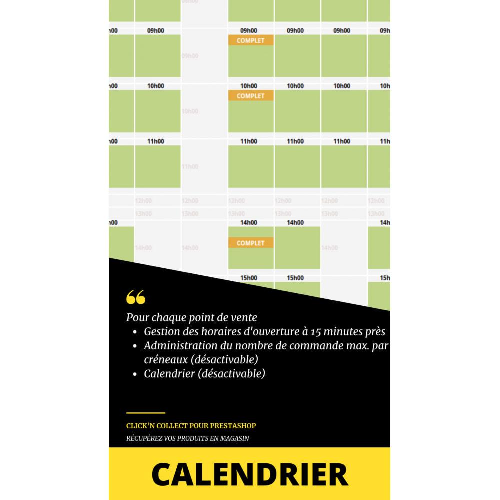 module - Point Relais & Retrait en Magasin - Click'n collect/Drive - à emporter sur créneaux horaire - 4
