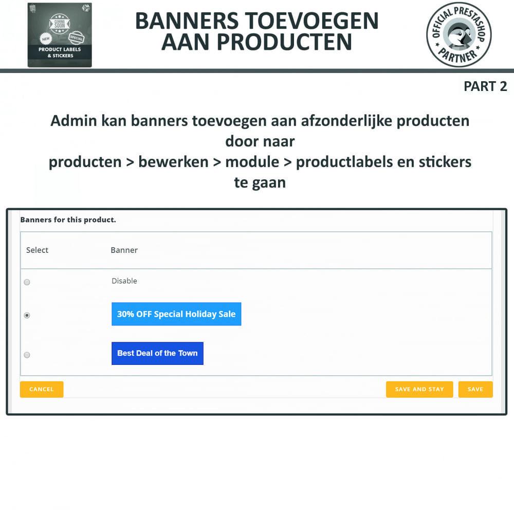module - Badges & Logos - Product Labels en Stickers - 18