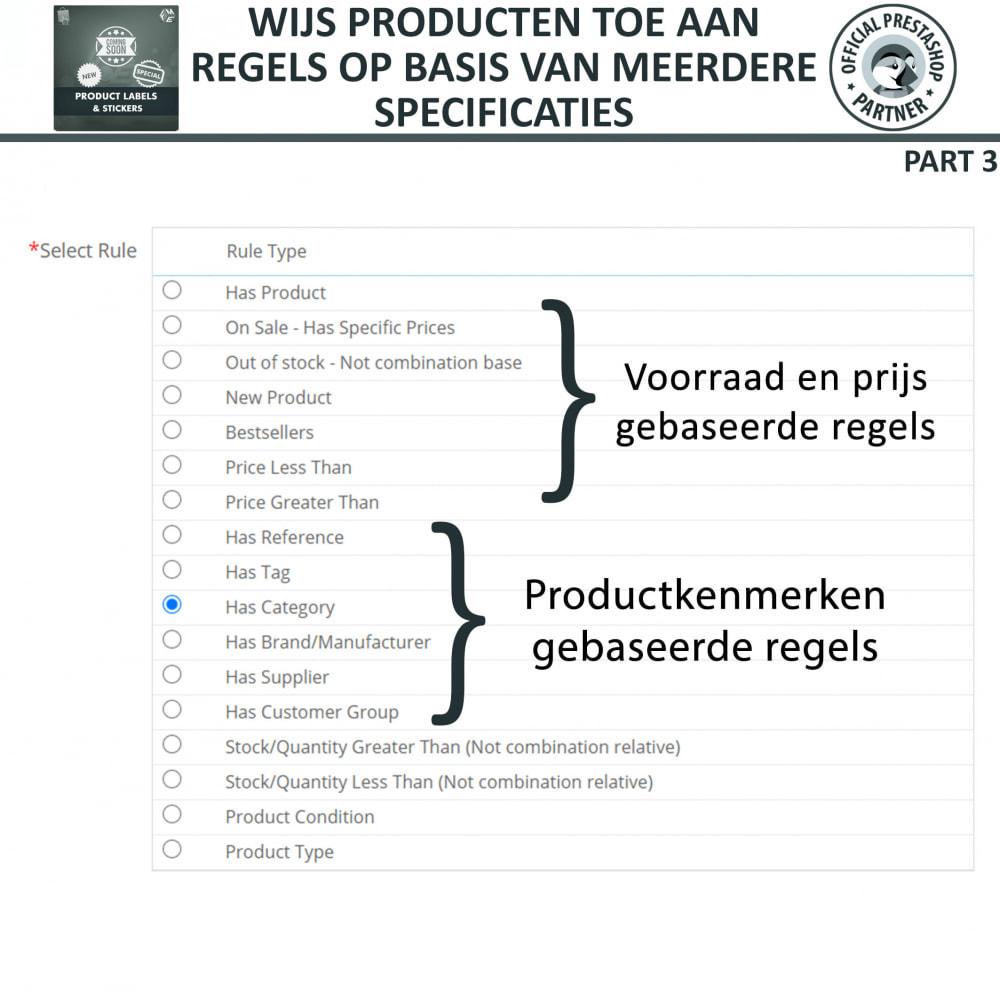 module - Badges & Logos - Product Labels en Stickers - 15