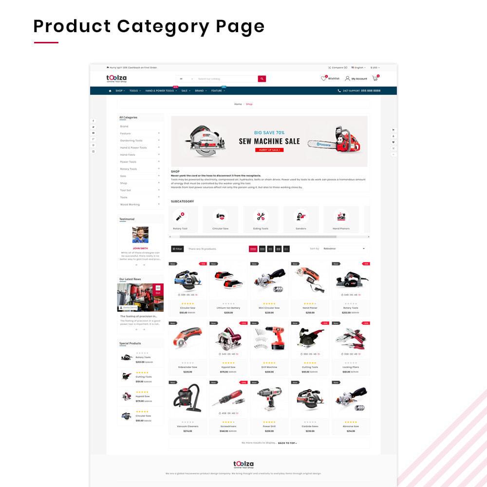 theme - Auto & Moto - Toolza Mega–Outils et Machine Super Store v3 - 3