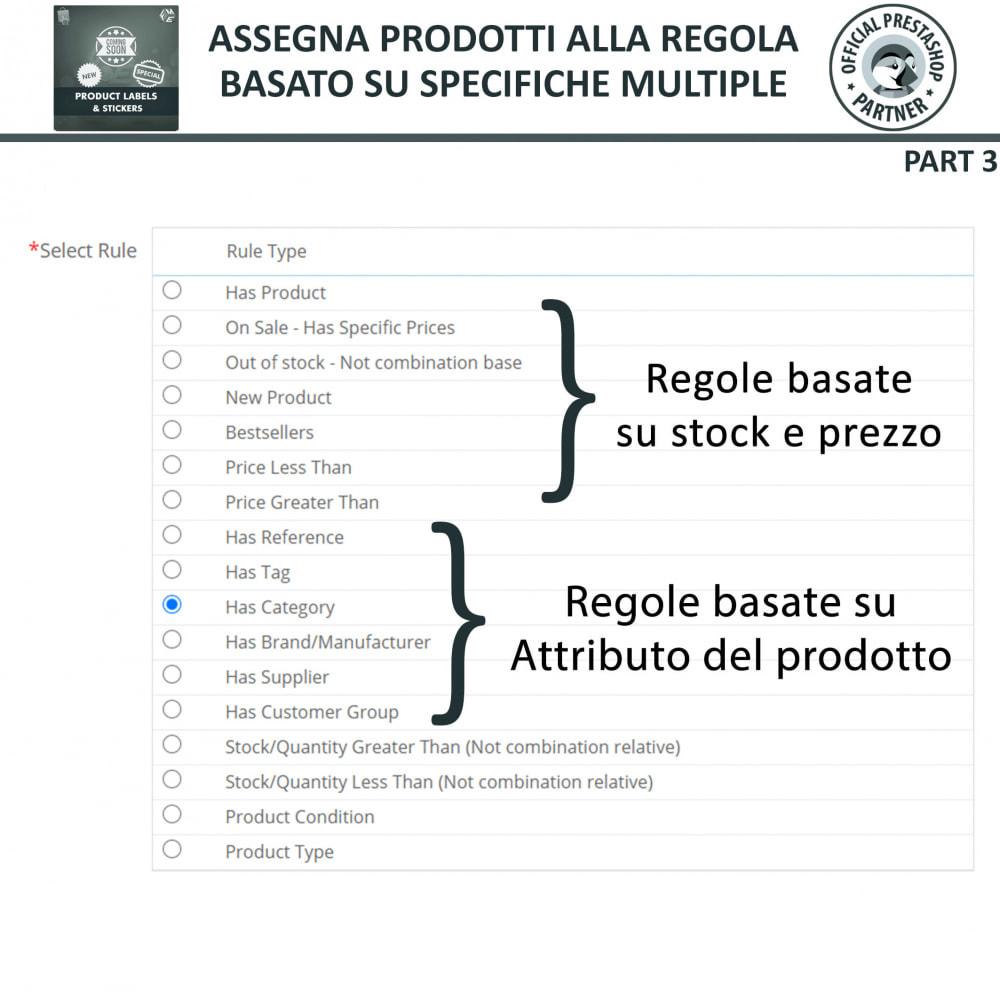 module - Badge & Loghi - Etichette e Adesivi per Prodotti - 15
