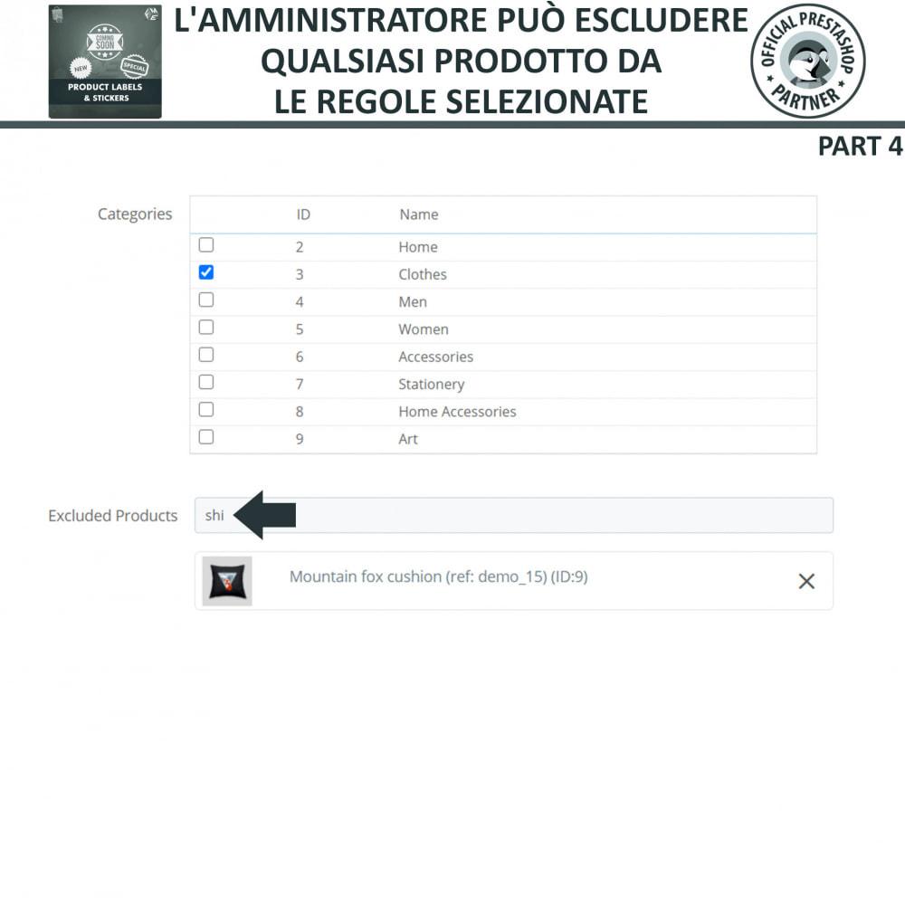 module - Badge & Loghi - Etichette e Adesivi per Prodotti - 16