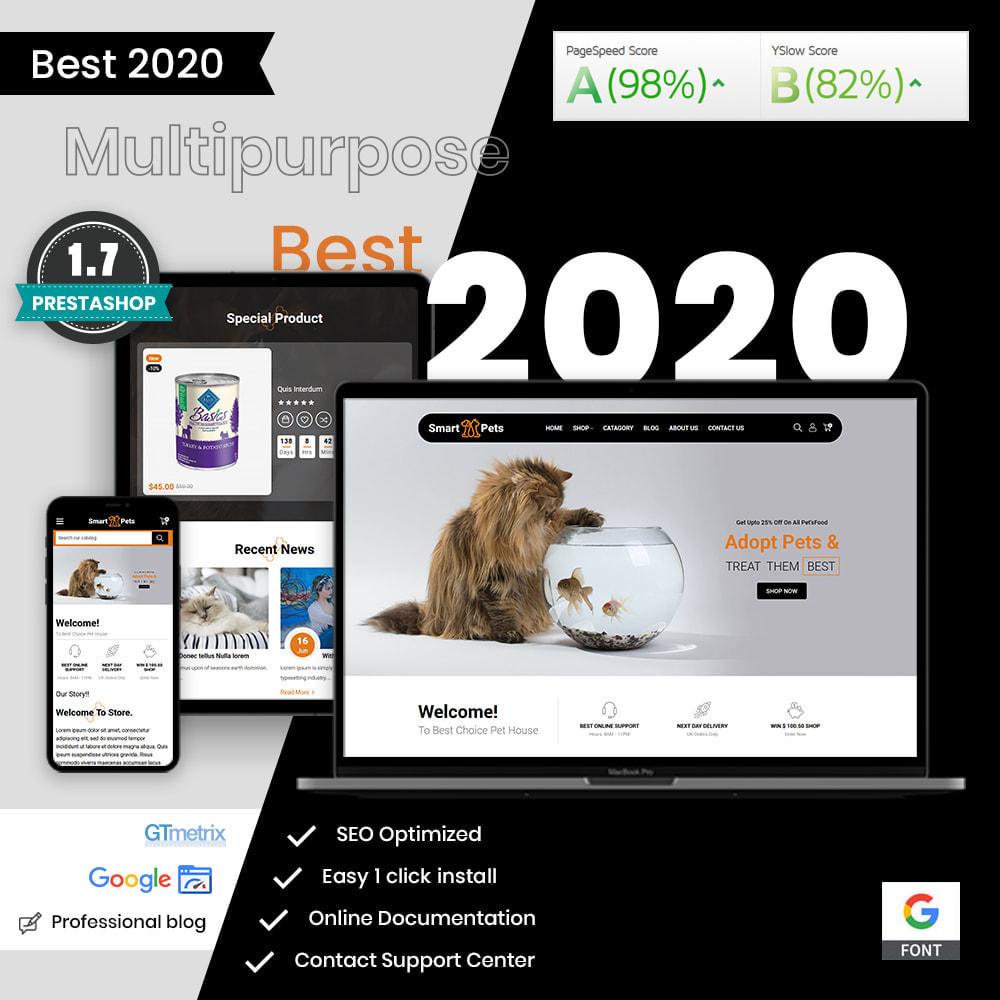 theme - Животные и домашние питомцы - Smart Pets - Minimal Pet Store - 1