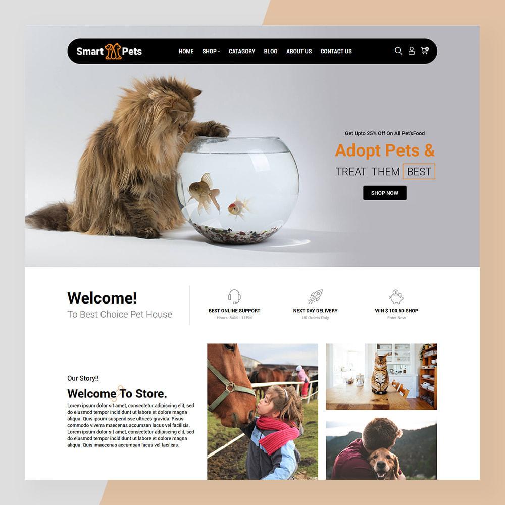 theme - Животные и домашние питомцы - Smart Pets - Minimal Pet Store - 2