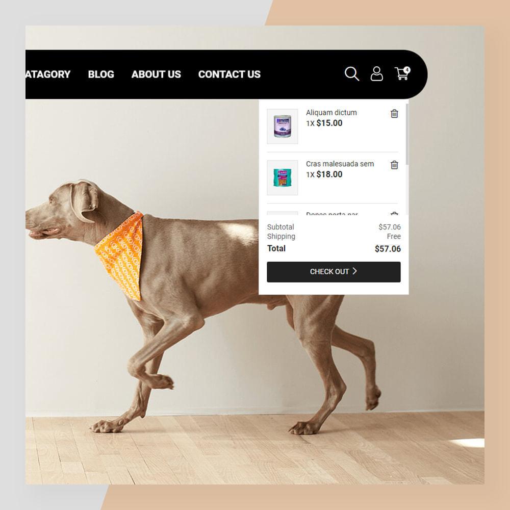 theme - Животные и домашние питомцы - Smart Pets - Minimal Pet Store - 4