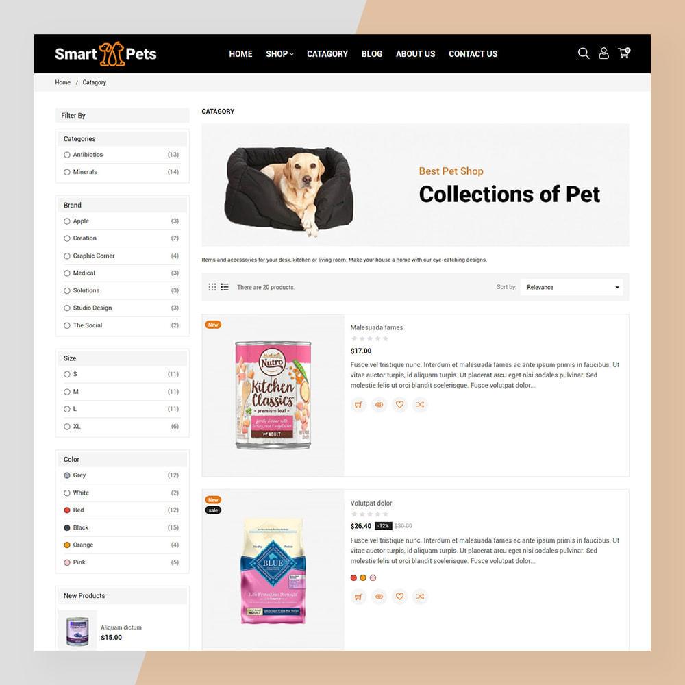 theme - Животные и домашние питомцы - Smart Pets - Minimal Pet Store - 5