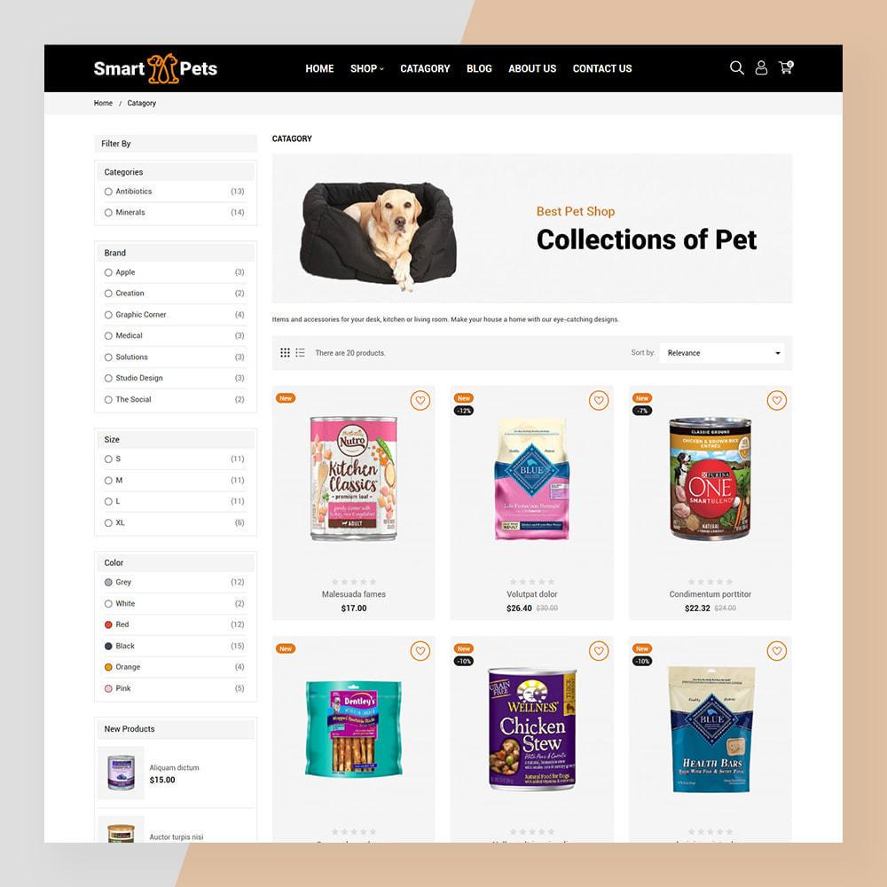 theme - Животные и домашние питомцы - Smart Pets - Minimal Pet Store - 6