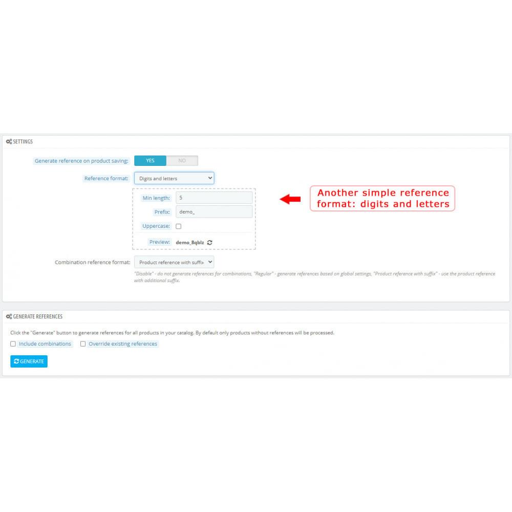 module - Voorbereiding & Verzending - Product Reference Generator - 3