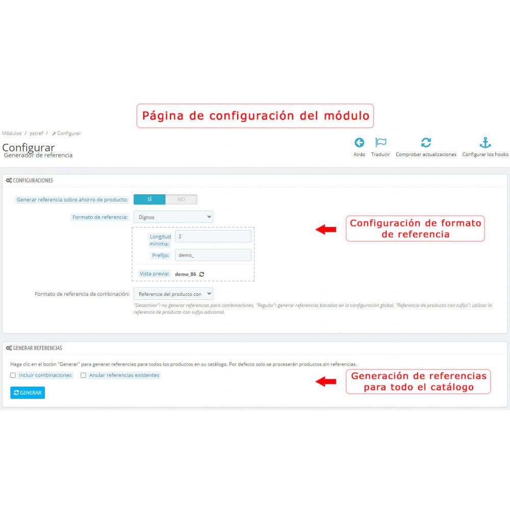 module - Preparación y Envíos - Generador de referencias - 1