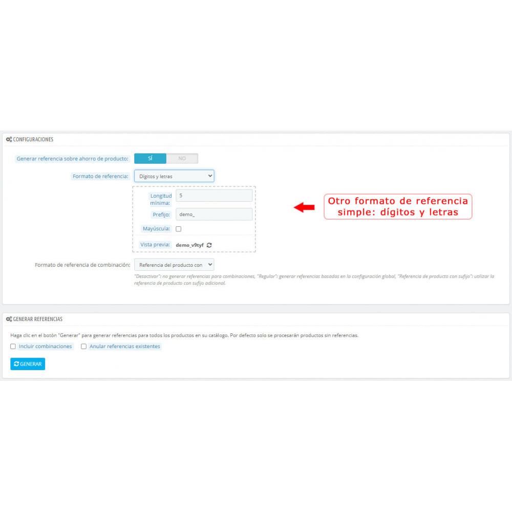module - Preparación y Envíos - Generador de referencias - 3