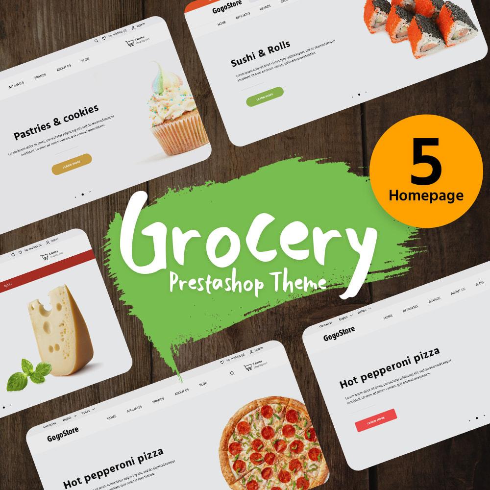 theme - Alimentation & Restauration - Grocery - 1