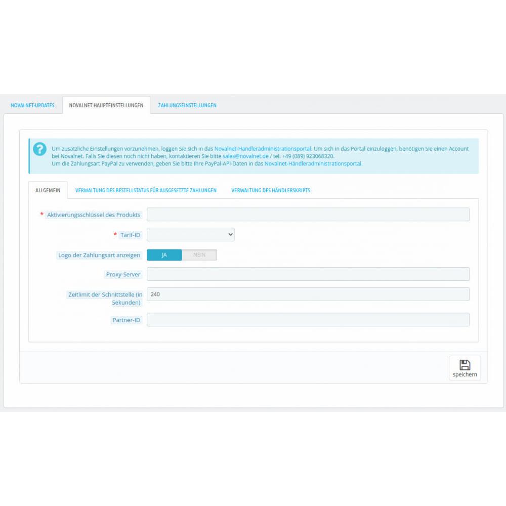 module - Zahlung per Kreditkarte oder Wallet - Novalnet Zahlung - 3
