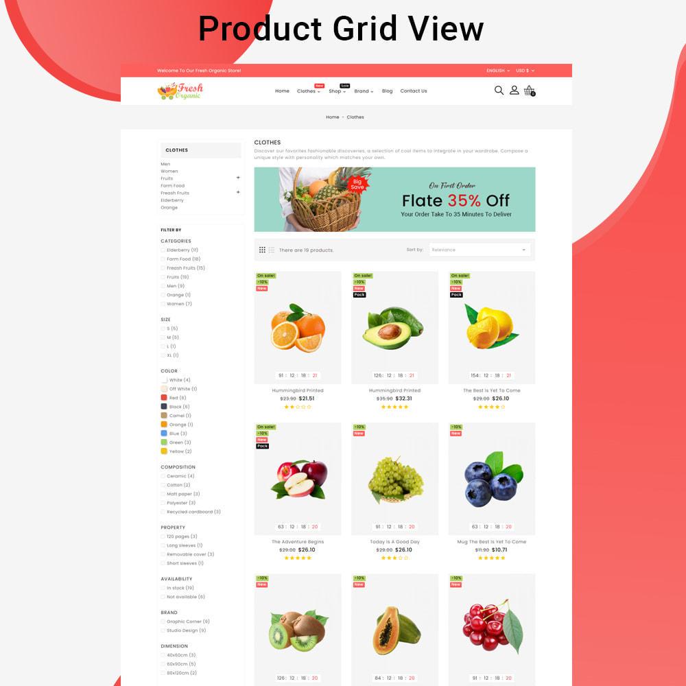 theme - Żywność & Restauracje - Mavrick Organic Fresh Food Multipurpose Online Store - 4