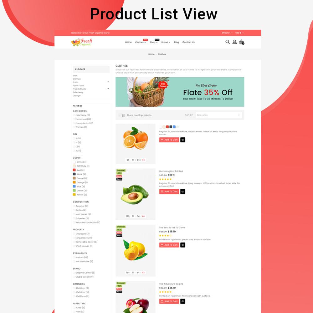 theme - Cibo & Ristorazione - Mavrick Organic Fresh Food Multipurpose Online Store - 5