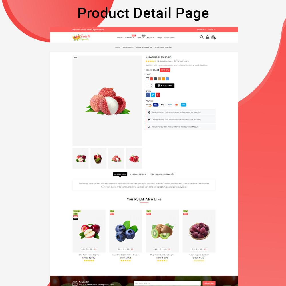 theme - Cibo & Ristorazione - Mavrick Organic Fresh Food Multipurpose Online Store - 6