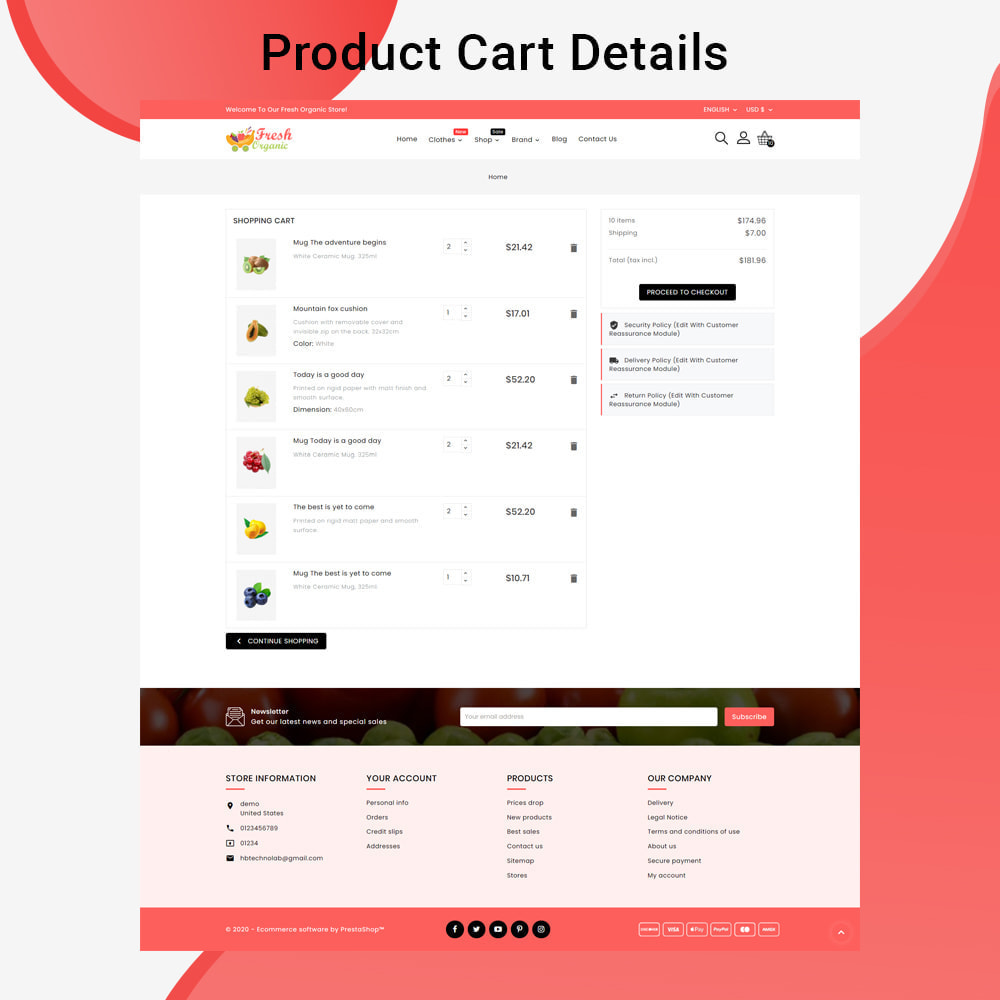 theme - Żywność & Restauracje - Mavrick Organic Fresh Food Multipurpose Online Store - 7