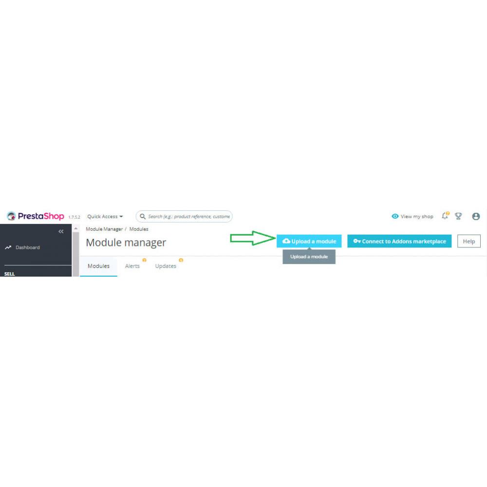 module - Дополнительной информации и вкладок товара - Custom Size Chart - 2