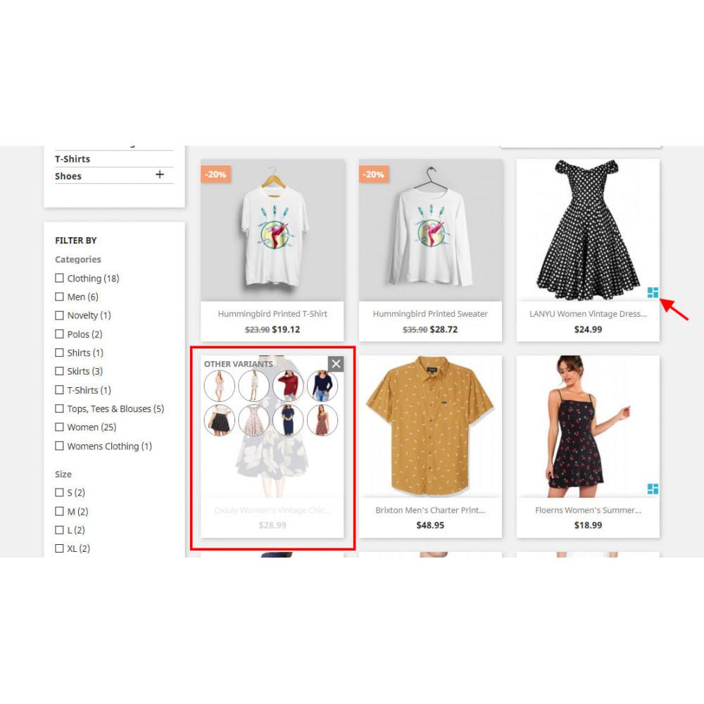 module - Ventas cruzadas y Packs de productos - Custom Product Variants - 3