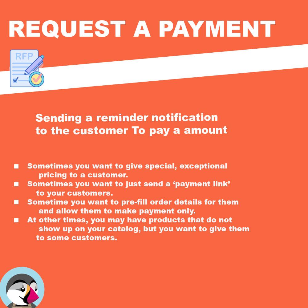 module - Альтернативных способов оплаты - Request additional payment - 1