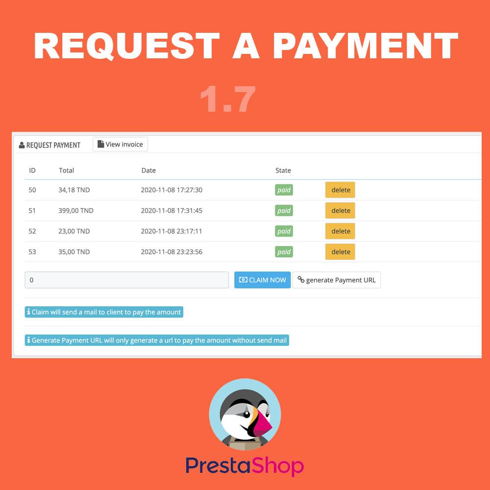 module - Альтернативных способов оплаты - Request additional payment - 2