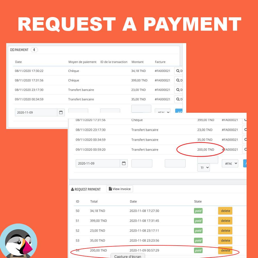 module - Альтернативных способов оплаты - Request additional payment - 3
