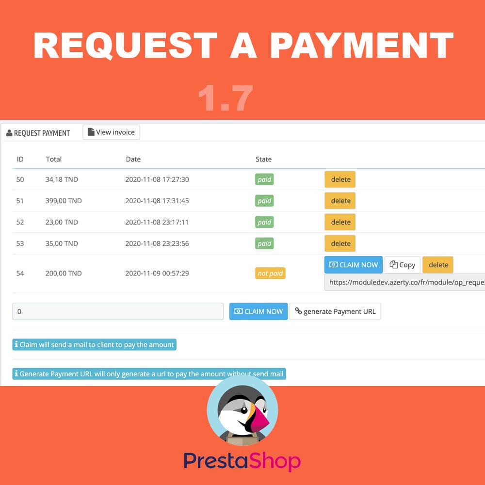 module - Альтернативных способов оплаты - Request additional payment - 4