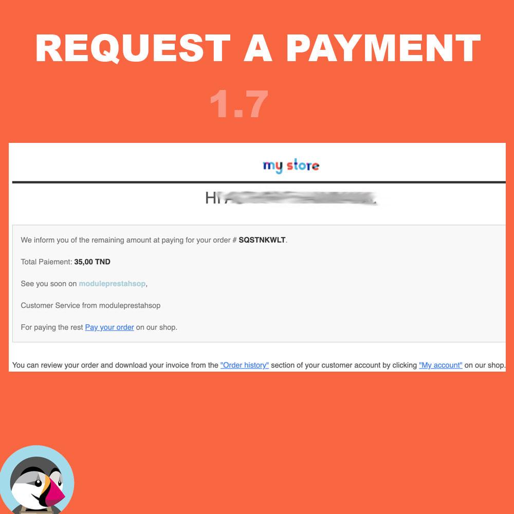 module - Альтернативных способов оплаты - Request additional payment - 5