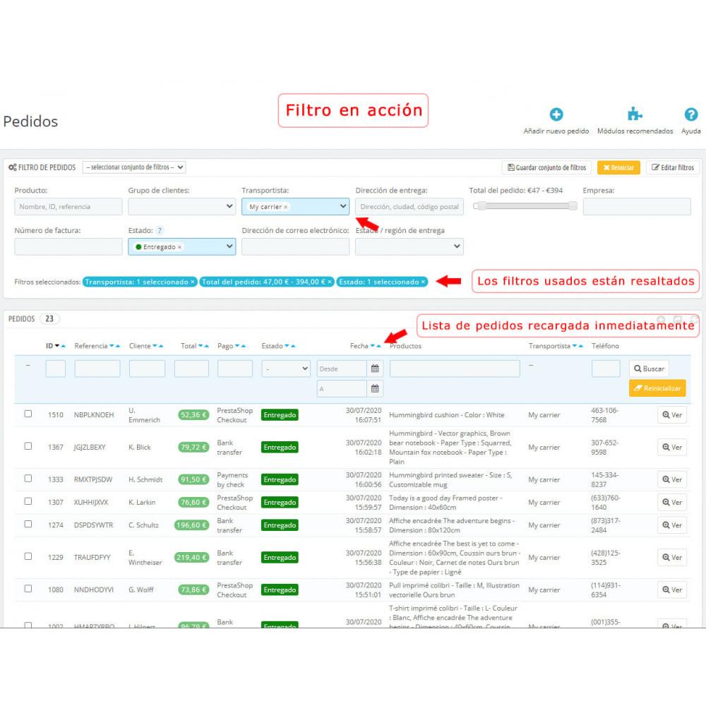 module - Gestión de Pedidos - Filtro mejorado de pedidos - 4