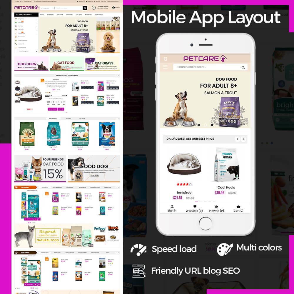 theme - Animals & Pets - Animals & Pets Care Store - 1