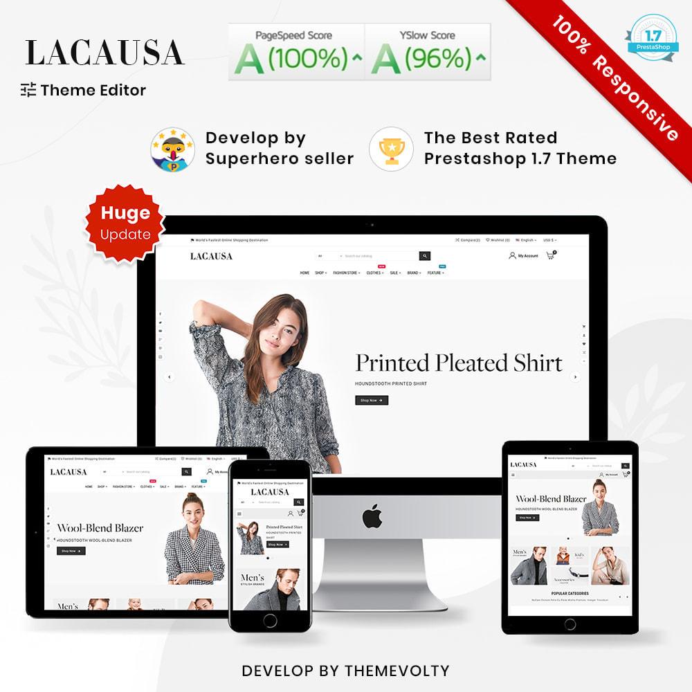 theme - Мода и обувь - Lacausa Mega Fashion–Clothes Super Store - 1