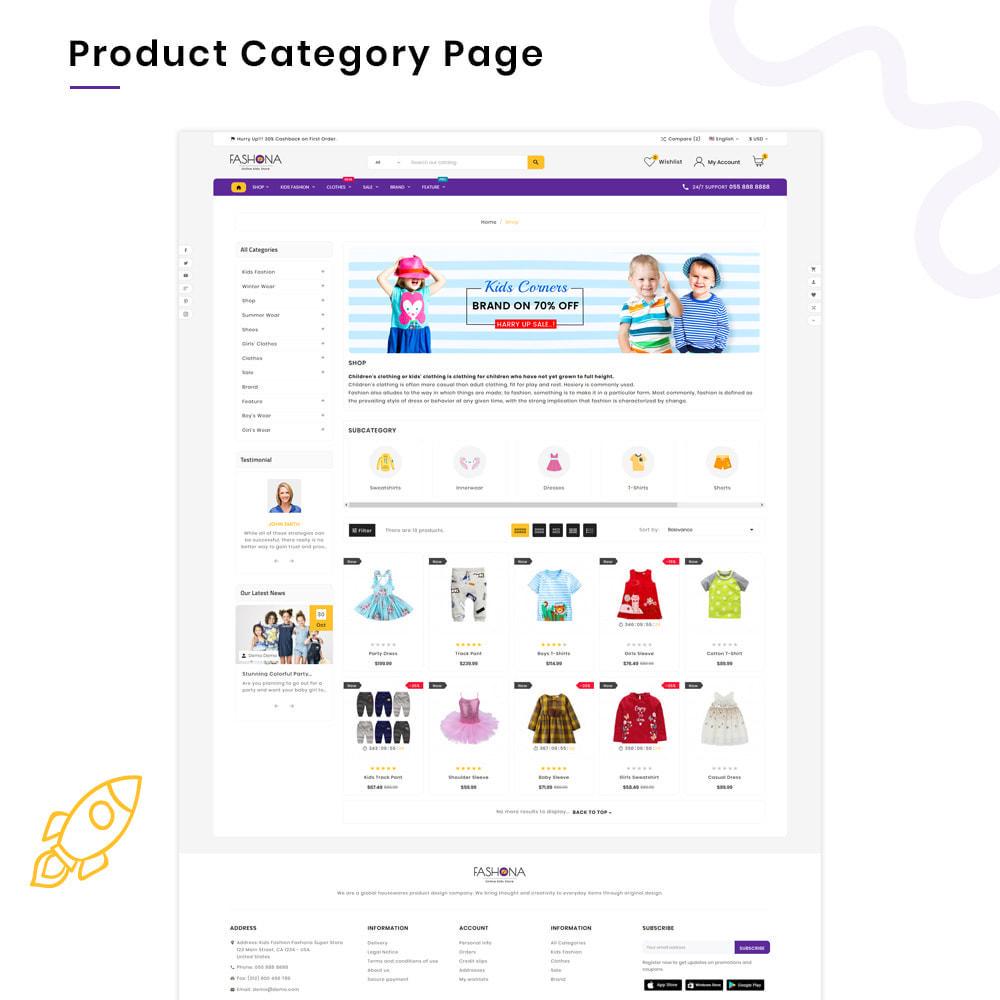 theme - Kinder & Spielzeug - Fashona Children–Kids Fashion Super Store v3 - 3