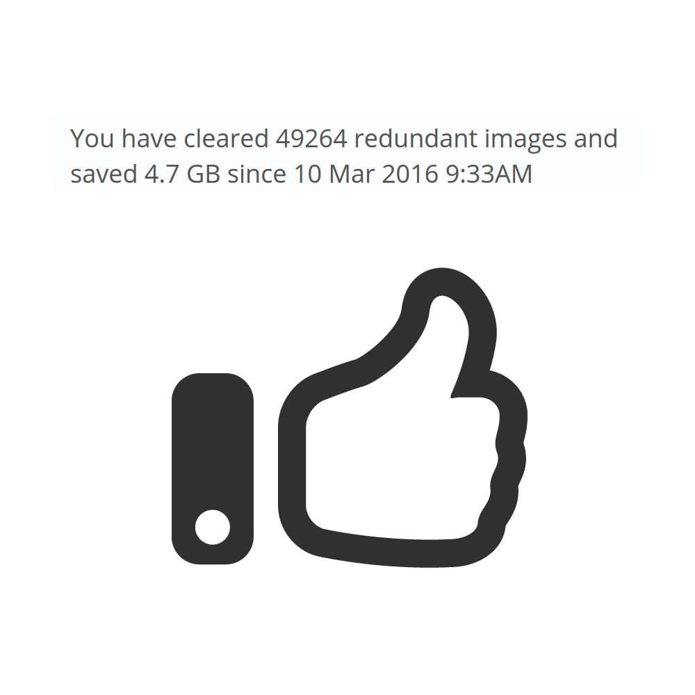 module - Rendimiento del sitio web - Redundant Image Cleaner - 2