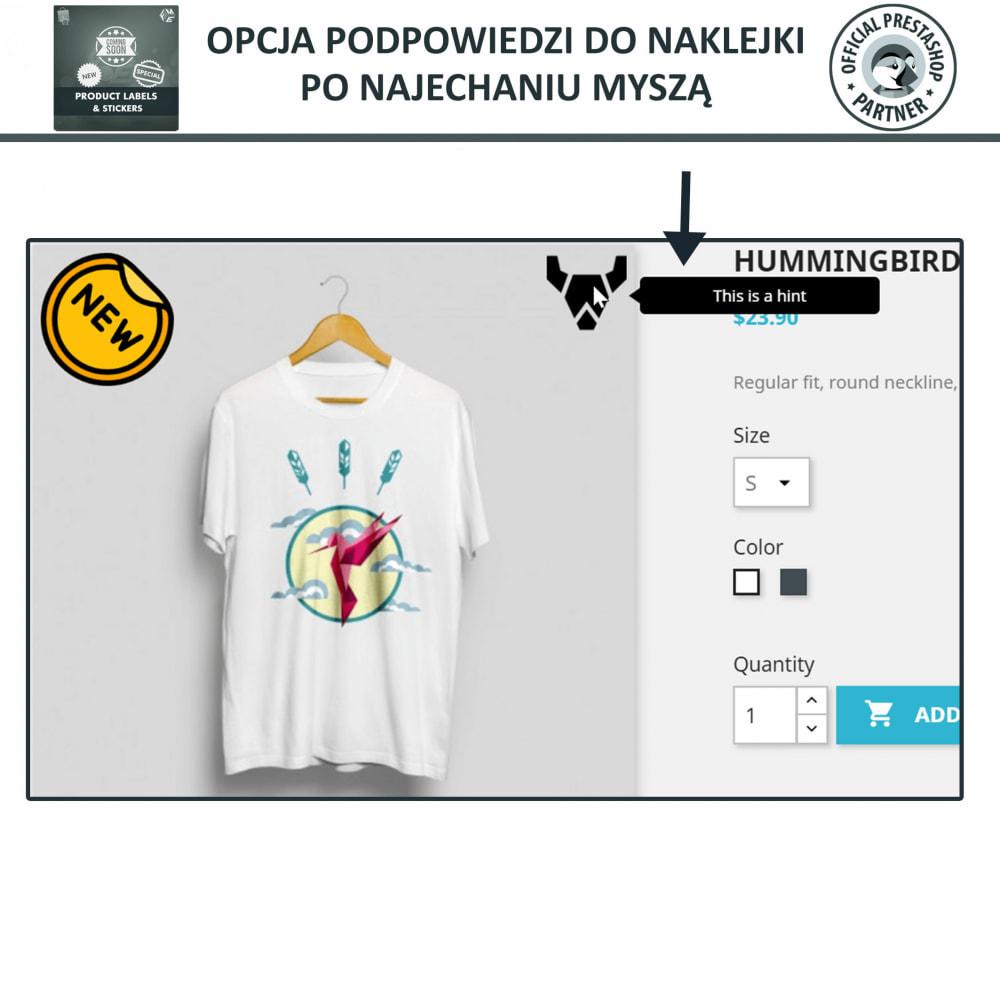 module - Odznaki & Logo - Etykiety i Naklejki na Produkty - 6