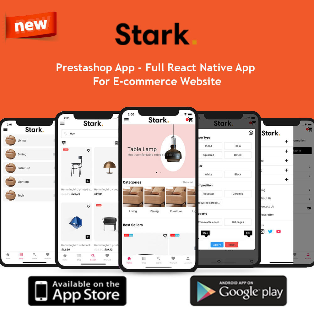 module - Dispositivos móviles - Stark Mobile App | React Native App for Android & IOS - 1