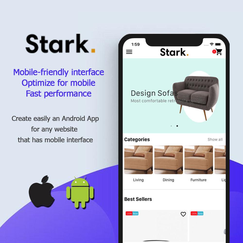module - Dispositivos móviles - Stark Mobile App | React Native App for Android & IOS - 2