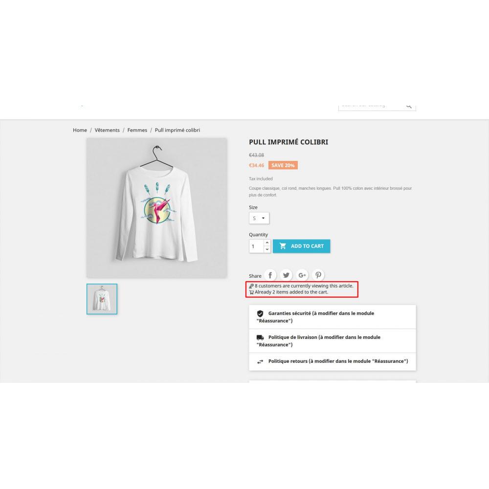 module - Dodatkowe informacje & Zakładka produktu - Odwiedź licznik na stronie produktu - 3