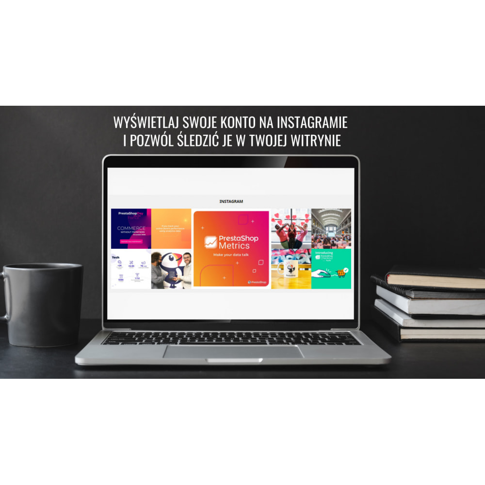 module - Produkty w serwisach społecznościowych - Insta Feed - zdjęcia z instagrama w Twoim sklepie - 1