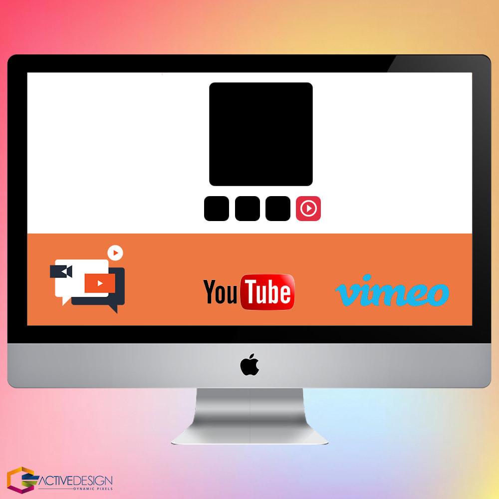 module - Vidéo & Musique - Product Videos PRO - Youtube, Vimeo and Custom Video - 1