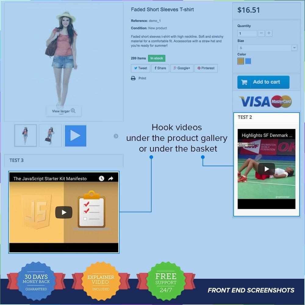 module - Vidéo & Musique - Product Videos PRO - Youtube, Vimeo and Custom Video - 3