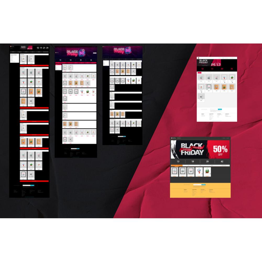 module - Закрытых и рекламных распродаж - Black Friday Landing Page - 4
